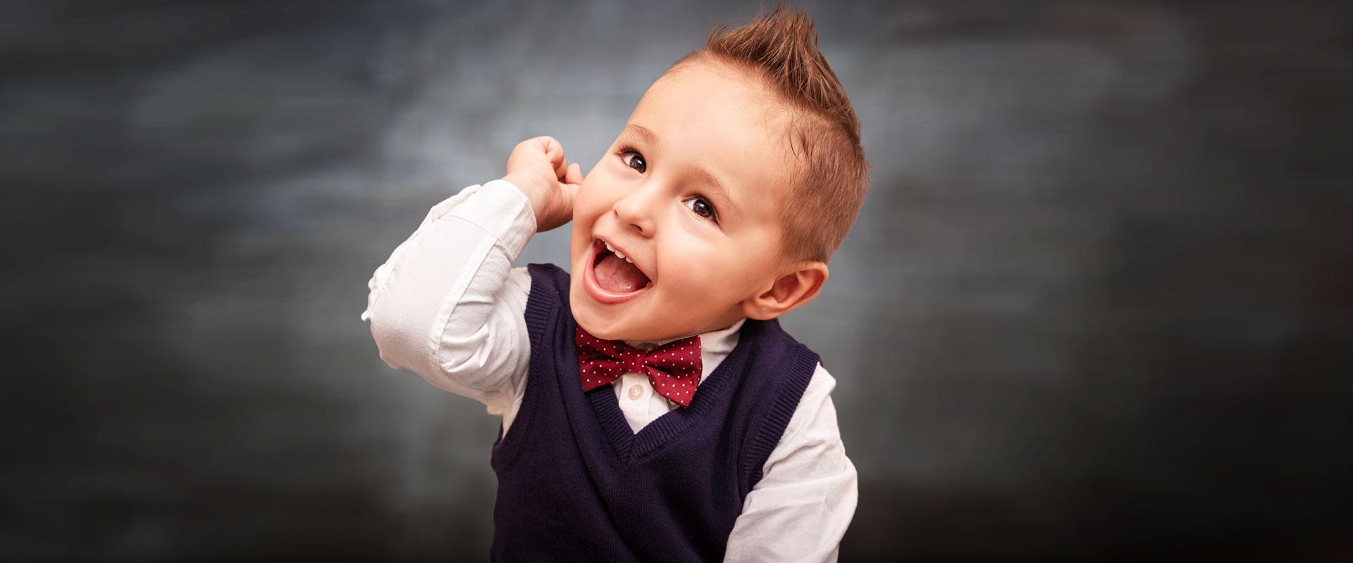 Fotograf Schwarzwald Junge lacht
